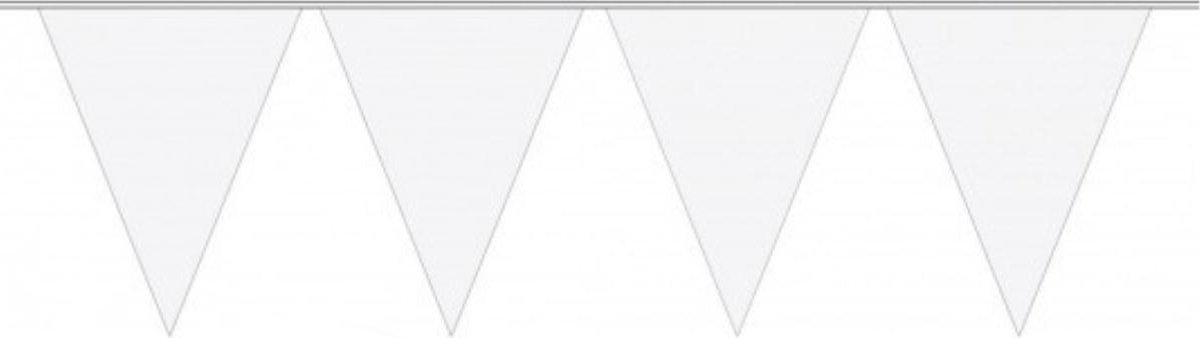 Slinger Vlaggenlijn Wit 10 Meter Verjaardag Bruiloft Slinger Voor Binnen En Buiten