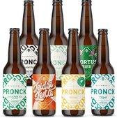 Speciaal Bierproeverij Met 7 Verschillende Pronck Bieren - 33 cl