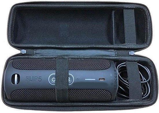 Afbeelding van Lovnix JBL Flip 5 Case - Beschermhoes voor de JBL Flip Speaker - met Extra Ruimte voor de Adapter -
