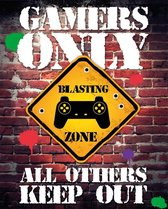 Gamers Only All Others Keep Out Poster 40x50cm
