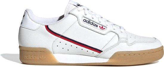adidas Sneakers - Maat 42 2/3 - Mannen - wit/navy/rood