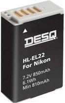 Desq Photo Nikon EN-EL22