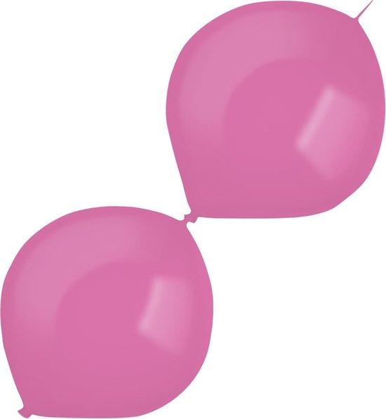Amscan Slingerballonnen 30 Cm Latex Magenta 50 Stuks