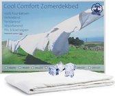Cool Comfort Zomer Dekbed | 100% Puur Katoen | Verkoelend Zomerdekbed | Ventilerend & Absorberend | Fris & Koel Slapen | 240x220 cm