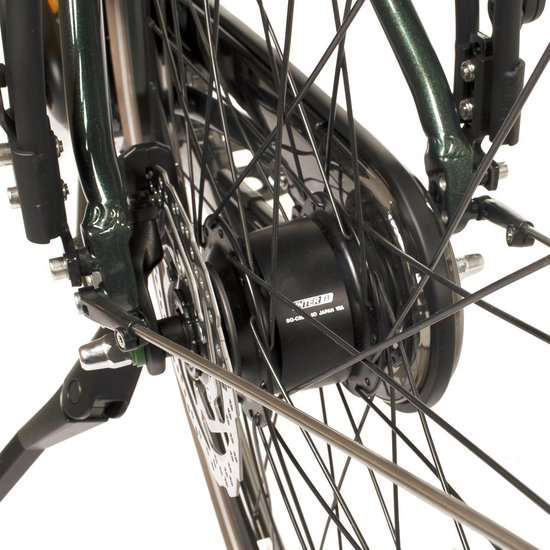 Villette l' Amour elektrische fiets, Nexus 8 naaf, middenmotor, ijswit 57 (+3) cm, 13 Ah accu