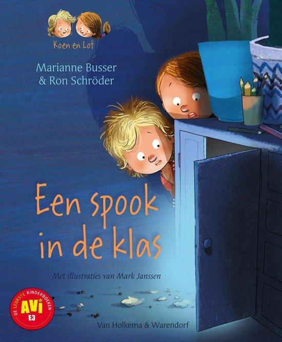 Koen en Lot 4 - Een spook in de klas - Marianne Busser |