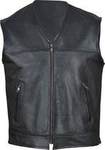 HD Vest Heren gemaakt van Rund Leer . Biker Vest - L