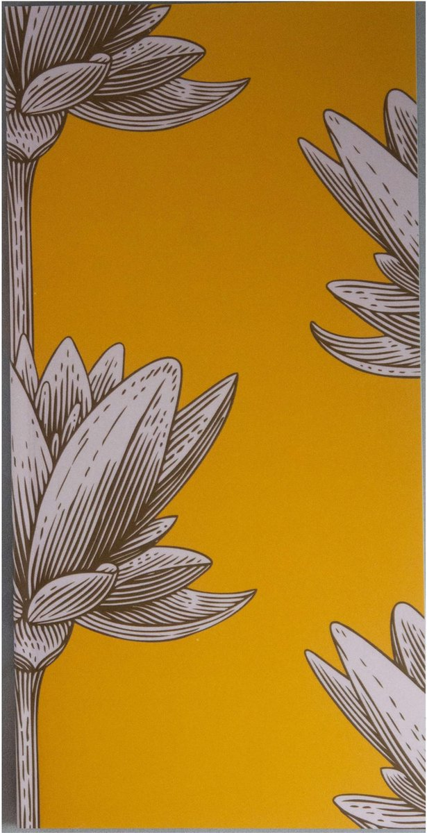 Notitieboek - To Do - Lotus Geel - To Do Lijstjes - Gelijnd - Softcover - Flexibele Omslag - Geel - Werk - Studie - Dagboek