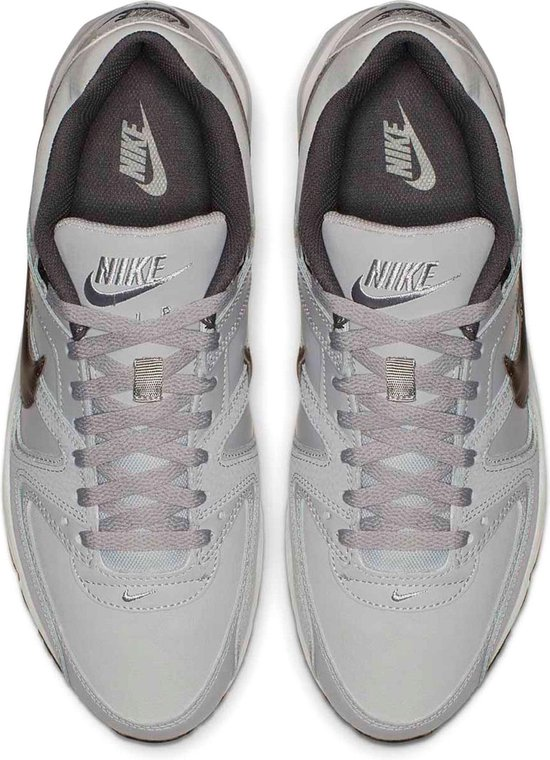 Nike Air Max Command Leather Heren Sneakers - Wolf Grey/Black - Maat 45