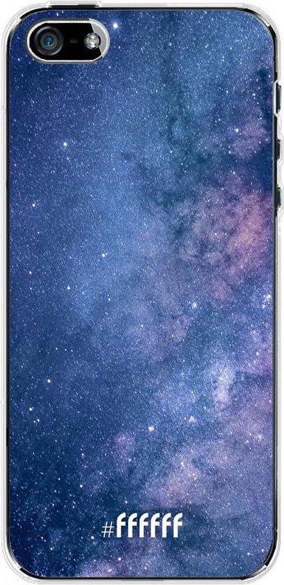 iPhone SE (2020) Hoesje Transparant TPU Case - Perfect Stars #ffffff