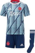 Ajax-minikit 2020-2021 Kinderen - Maat 92 - IJsblauw