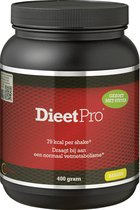 Dieet Pro - Eiwitshake - Voedingssupplementen - Banaan Stevia - 400 gr