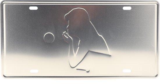 Wandbord – Mancave – My Style – Vintage Retro Wanddecoratie – Reclame bord – Restaurant – Kroeg Bar – Cafe Horeca – Metal Sign – Mannen Cadeau