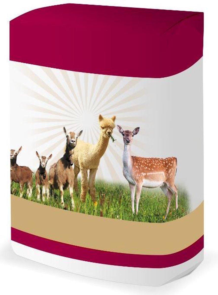 Alpabas | Alpacabrok | Alpacavoer eiwit- & energiekorrel 20kg