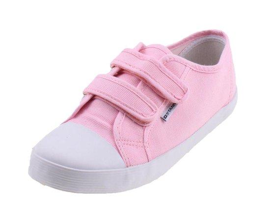 Canvas Gymschoen Sportschoenen Kinderen - Roze - Maat 29