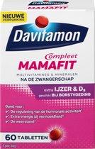 Davitamon Mamafit - multivitamine voor na de zwangerschap - helpt je om aan te sterken na de bevalling - met ijzer en vitamine D3 - 60 tabletten