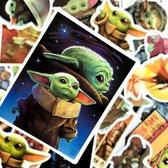 Baby Yoda Stickers - 50 st - The Mandalorian - Star Wars Merch