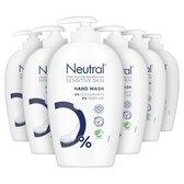 Neutral Vloeibare Handzeep Parfumvrij - 6 x 250 ml - Voordeelverpakking