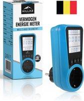 Hillar® Energiemeter met LED - Energiekosten - Verbruiksmeter - Elektriciteitsmeter - kWh - Stroomverbruik - Energieverbruiksmeter