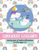 Confident Caticorn Coloring Book of Positive Affirmations
