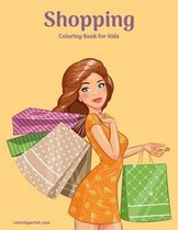 Shopping Coloring Book for Kids