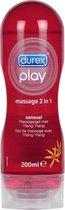 Durex Play Massage en Glijmiddel 2 in 1 Sensual - 200 ml