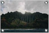 Tuinposter –Bergen aan het Water– 150x100 Foto op Tuinposter (wanddecoratie voor buiten en binnen)