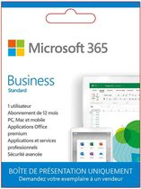 Microsoft 365 Business - Frans - 1 jaar abonnement