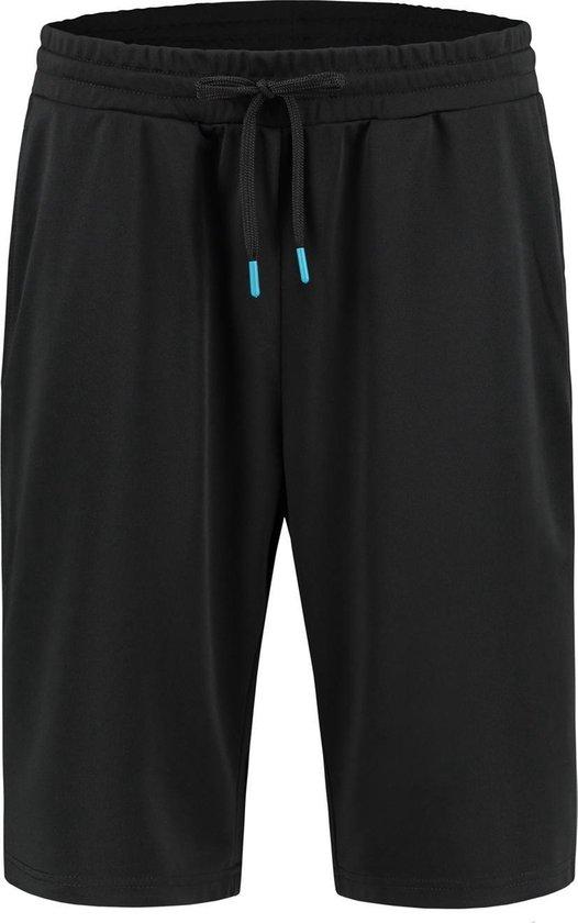 Redmax Heren korte sportbroek Dry-Cool zwart - grote maten - XXL