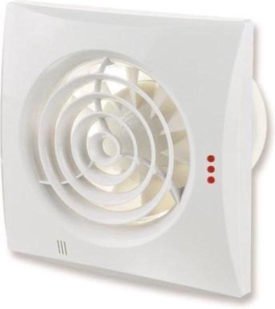 Bol Com Badkamer Toilet Ventilator Quiet O100mm Zeer Stil 25db Met Kogellager En Timer
