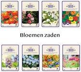 Bloemen zaden 8 soorten Bekende bloemen AANBIEDING voor Tuin of in Potten