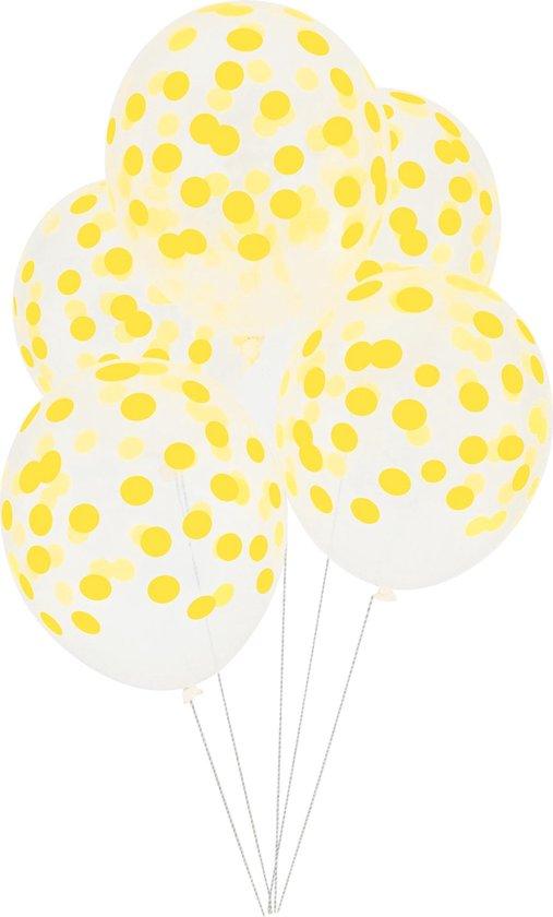 My Little Day - Ballonnen - Bollen geel - set 5 - 30cm