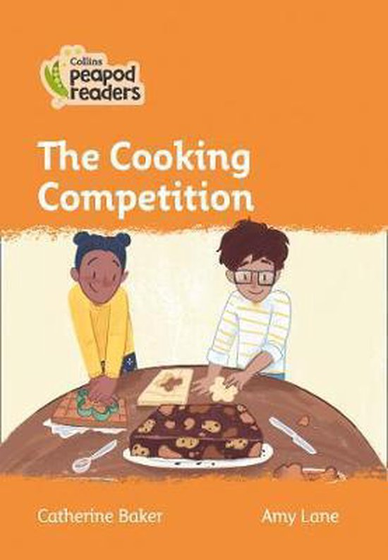 Boek cover Collins Peapod Readers - Level 4 - The Cooking Competition van Catherine Baker (Paperback)
