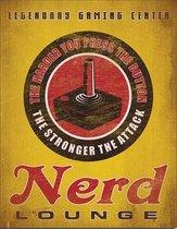 Wandbord - Nerd Lounge Legendary Gaming Center