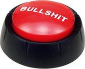 Rode BULLSHIT buzzer drukknop met geluid - Fun/fopartikelen