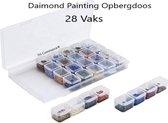 Diamond Painting Opbergbox 28 Vaks - Organizer