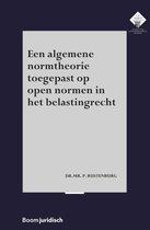 E.M. Meijers Instituut voor Rechtswetenschappelijk Onderzoek 345 -   Een algemene normtheorie toegepast op open normen in het belastingrecht