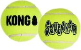 Kong Air Squaker Tennisbal - Hondenspeelgoed - XS - Ø5 cm