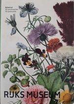 kaartenset - 50 stuks - Rijksmuseum - wenskaarten - bloemen - botanische prenten, schilderij