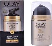 Olay Total Effects 7 in 1 CC Cream Complexion Corrector Spf15 Medium To Dark 50ml