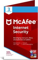 McAfee Internet Security - Multi-Device - 3 Appara