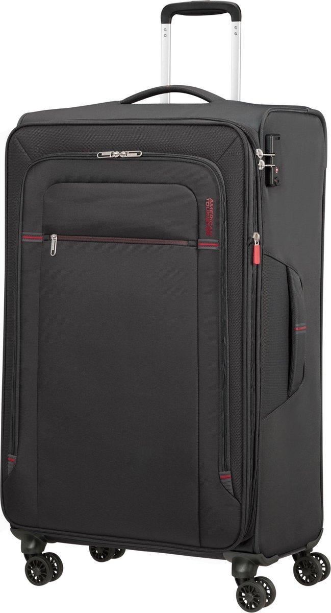 American Tourister Reiskoffer - Crosstrack Spinner 79/29 Tsa Uitbreidbaar (Large) Grey/Red kopen