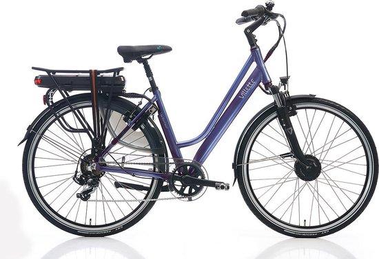 Villette le Bonheur elektrische fiets - grijsblauw - Framemaat 51 cm