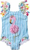 Badpak - Flamingo - Ibiza - Meisjes - Maat 110