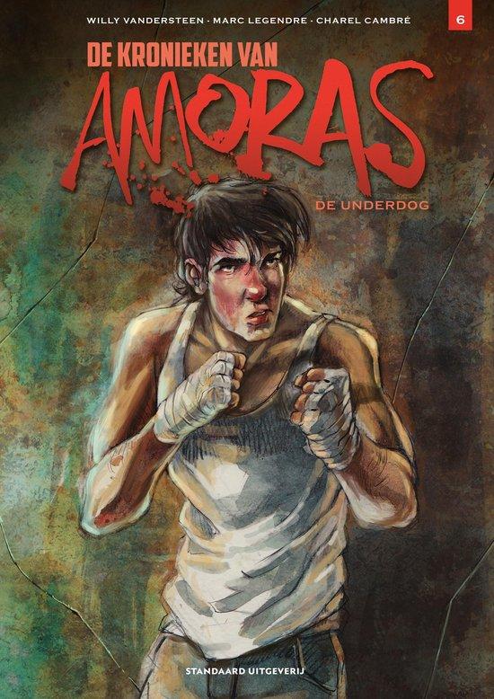 Afbeelding van Kronieken Amoras 6 - De underdog