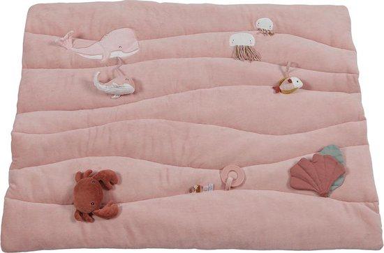Product: Little Dutch Boxkleed Ocean pink, van het merk Little Dutch