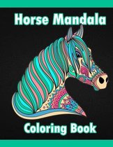Horse Mandala Coloring Book