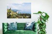 Taormina / Wanddecoratie / Foto op kunststof (Forex) / Canvasdoek kunststof / 90 x 60