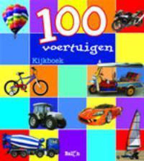 Cover van het boek '100 Voertuigen kijkboek midprice'
