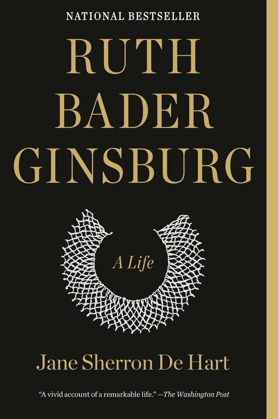 Boek cover Ruth Bader Ginsburg van Jane Sherron De Hart (Paperback)
